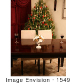 #1549 Table Setting at Christmas Time by Jamie Voetsch