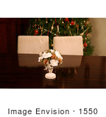 #1550 Table Setting at Christmas Time by Jamie Voetsch