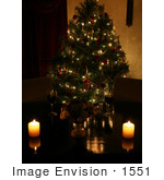 #1551 Christmas Table Setting by Jamie Voetsch