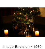 #1560 Christmas Table Setting by Jamie Voetsch