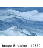 #15632 Picture Of Snow Covered Mountains Of Amchitka Island Alaska