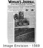 #1569 Woman's Journal and Suffrage News by JVPD
