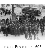 #1607 Suffrage Demonstration at Park Row, New York City by JVPD