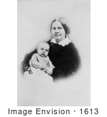#1613 Photograph Of Lucy Stone With Daughter Alice Stone Blackwell