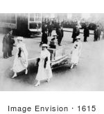 #1615 Suffrage Parade 1915