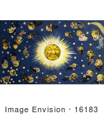 #16183 Picture Of Politicians As Stars And The Sun