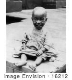 #16212 Picture Of An African American Girl In 1897