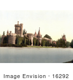 #16292 Stock Photo Of Laxenburg Castle In Franzenfeste Vienna Austria Austro-Hungary