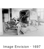 #1697 Picture Of A French Red Cross Ambulance