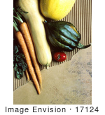 #17124 Picture Of Carrots Squashes And Tomatoes