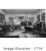 #1714 The Declaration Of Independence