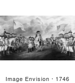 #1746 Surrender Of Lord Cornwallis At Yorktown Va