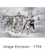 #1754 Heroes Of 1776 Marching To The Fight