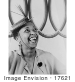 #17621 Picture Of Blues Music Singer Ethel Waters Wearing A Hat by JVPD