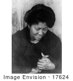 #17624 Picture of Mahalia Jackson, Gospel Singer by JVPD
