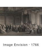 #1766 Franklin Before The Lords In Council Whitehall Chapel London