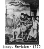 #1775 The Bostonians Paying The Exciseman Or Tarring And Feathering