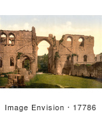 #17786 Photo Of The Ruins Of Furness Abbey In Cumbria England