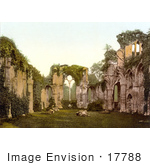 #17788 Photo Of The Interior Of The Ruins Of Netley Abbey In England