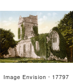 #17797 Photo Of The Ruins Of Muckross Abbey In Killarney County Kerry Ireland