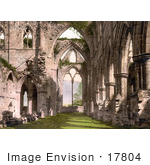 #17804 Photo Of The Interior Ruins Of Tintern Abbey Looking East England
