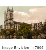 #17809 Photo Of Westminster Abbey Westminster London