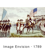 #1789 Surrender Of Cornwallis At Yorktown