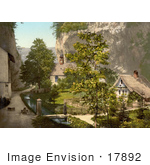 #17892 Picture Of The Hermitage At Solothurn Switzerland