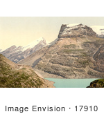 #17910 Picture Of Mountains Around A Lake Passhohe Schwarenbach Altels And Rinderhorn Bernese Oberland Switzerland
