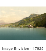 #17925 Picture Of Chateau De Chillon Chillon Castle On The Shore Of Geneva Lake Switzerland