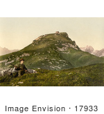 #17933 Picture Of A Boy Carrying A Package Appenzell Switzerland