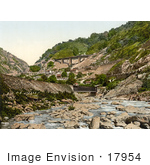 #17954 Picture Of Bridges And Buildings Of The St Gotthard Railway Switzerland