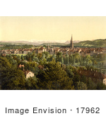 #17962 Picture Of Berne Switzerland And The Swiss Alps