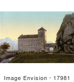 #17981 Picture Of Voury The Port Du Scex Meaning The Gate Of Scex In Valais Switzerland
