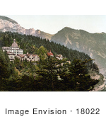#18022 Picture Of Hotel Sonnenberg In The Village Of Seelisberg Uri Switzerland