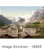 #18025 Picture Of Hotels In The Saas Fee Village Swiss Alps Valais Switzerland