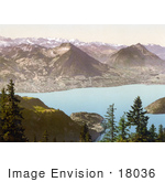 #18036 Picture Of Rigi Scheidegg View Of Oberland Alps Rigi Switzerland