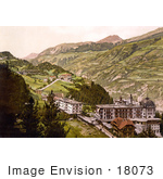 #18073 Picture Of The Villages Vulpera And Fetan Lower Engadine Grisons Switzerland