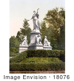 #18076 Picture Of The St Jacob Monument In Basle Switzerland