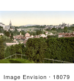 #18079 Picture Of Kirchenfeld Bridge With Kirchenfeld In The City Of Berne Switzerland