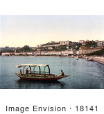 #18141 Photo Of A Boat On Lake Lugano Lugano Ticino Tessin Switzerland