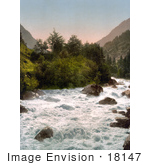 #18147 Photo Of The Lutschine River Bernese Oberland Switzerland