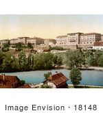 #18148 Photo Of The 15th Century Town Hall And The River Aare In Berne Switzerland
