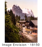 #18150 Photo Of The Sawmill In Rosenlaui Bernese Oberland Switzerland