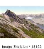 #18152 Photo Of Pilatus Mountain Looking Towards Glarnisch Glarus Alps Switzerland