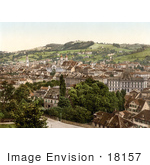 #18157 Photo Of St Gall Switzerland As Seen From Rosenberg