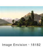 #18182 Photo Of Schloss Schadau Castle On River Aare In Thun Bernese Oberland Switzerland