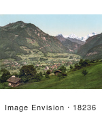 #18236 Photo Of Wilderswil Schynige Platte Swiss Alps Bernese Oberland Switzerland