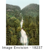 #18237 Photo Of Cascades Of The Giessbach Falls Waterfall Through A Forest Brienz Bernese Oberland Switzerland