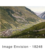 #18248 Photo Of Village Of Vals Surselva Graubunden Switzerland